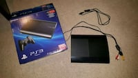 !!! PS3 Super Slim Edition Like New with Games !!! Surrey, V4N 5H4
