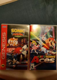 two Nintendo Gamecube game cases Mississauga, L5N 8G8