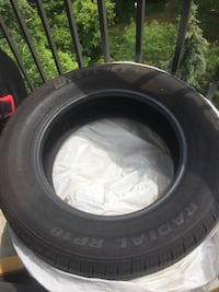 Radial vehicle tire Toronto, M9N 2S5