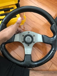 Black and gray car steering wheel Toronto, M1P 2K2