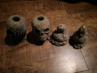 skull candle holders and baby dragons Saint Catharines