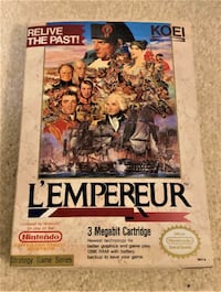 Extremely Rare NES Game - L'Empereur (Mint in Box)