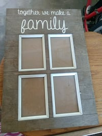 Together we make a family picture frame