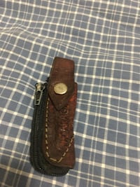 brown and black leather belt Los Angeles, 91605