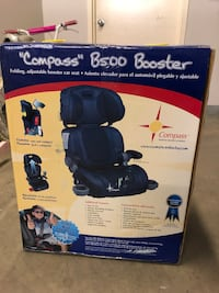Black and blue safety 1st booster seat box Washington, 20037