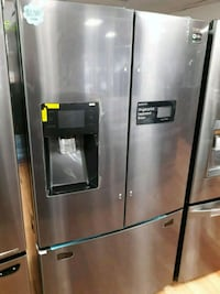 NEW SAMSUNG BLACK STAINLESS FRENCH DOOR  Ontario, 91762