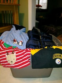 6 month toddler's assorted winter  clothes Allegheny County, 15101