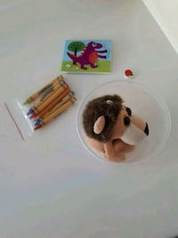 Cute Kid Plushie And Crayon Bundle Calgary, T3B 5W6