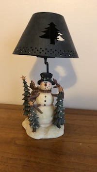 Snowman candle lamp Buffalo Grove, 60089