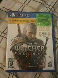 Sony PS4 The Witcher Wild Hunt game Calgary, T3G 2X6