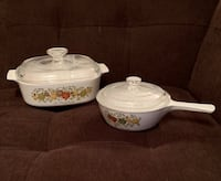 2 CorningWare Dishes w/ Pyrex Lids—Spice of Life—Listing 1 of 2 Vienna, 22180