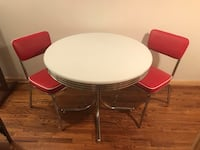 Retro kitchen table and chairs Bluemont, 20135