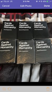 Cards against humanity! Edmonton, T5P 4P6