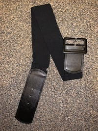 Black waist belt M/L Great Mills, 20634