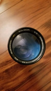 Soligor 70-210mm Canon FD lens
