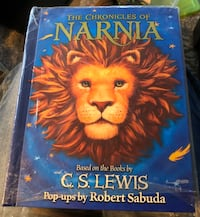 HB The Chronicles of Narnia Pop-ups Based on Books CS Lewis