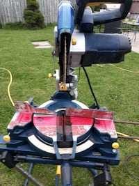 black and red miter saw 10 or trade for drill Cambridge, N1R 5R2