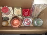 Candles All 30 for 10$  Montreal