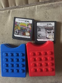 LEGO DS game holder and games