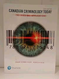 Canadian Criminology Today 6th Edition Schmalleger & Volk Calgary, T3C 0N8