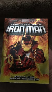 Marvel the invincible iron man comic book Calgary, T2Y 1C6