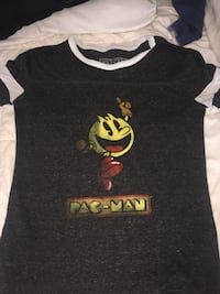 black and yellow Pac-Man crew-neck t-shirt Halifax