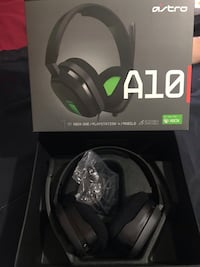 Xbox 1 Astro A10 gaming head set  Mississauga, L4W 5R5