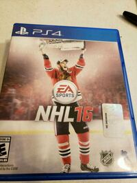 NHL 16 for ps4 Fullerton, 92831
