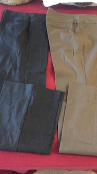 Two brown and black dress pants size 10 Vancouver, V6P 4M9