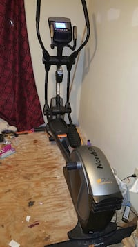 black and silver NordicTrack elliptical trainer McAllen