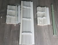 4 blinds in various sizes with hardware.  Fully functional.   Mississauga, L5G 4R6