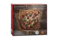 NIB Pizza Kit with Stone, Paddle and Cutter