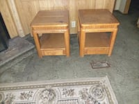 two brown wooden side tables Jacksonville, 32219