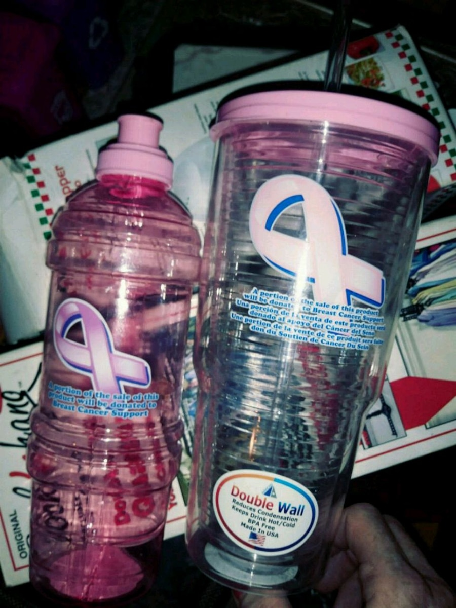 Good idea plastic water bottles breast cancer was