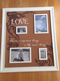 Picture Wall Decor on Cork Allentown