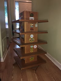 Rotating Wooden Display Stand *REDUCED PRICE* Bowmanville, L1C 2E2