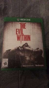 The Evil Within Xbox One game case Laval, H7N 6G2