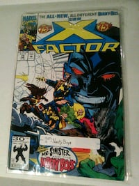 x factor issue 75 first of sinister's nasty boys comic book Glen Burnie, 21060