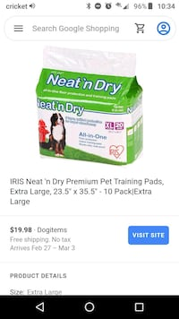New Pack Pet Pads -sell for 20$ Falls Church, 22041