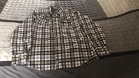 XL lined flannel shirt black white and yellow Myrtle Beach, 29575