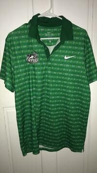 Green and white Nike polo shirt Chapel Hill, 27517
