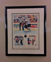 Tie Domi Signed Toronto Maple Leaf Print.