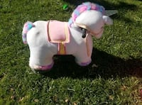 white and pink rocking horse Mentone, 92359