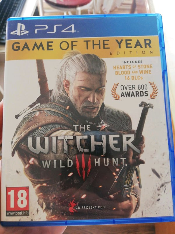 Witcher 3 Game of the year edition, PS4, Türkçe ef893de0-3a54-4f3c-a054-375ca7bdb7ee
