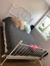 IKEA double bed frame with mattress  Surrey, V3T 4M8