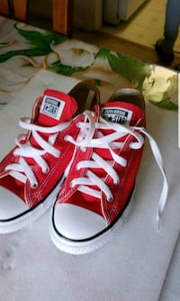 pair of red Converse All Star low-top sneakers Rockville, 20852