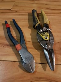 two yellow and black handled hand tools Calgary, T2M 1L3