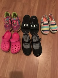 Girls sizes 10, 10.5 and 11's Jamestown, 14701