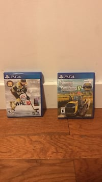 Two PS4 games Penticton, V2A 3B4