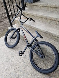 black and blue BMX bike High River, T1V 2A9